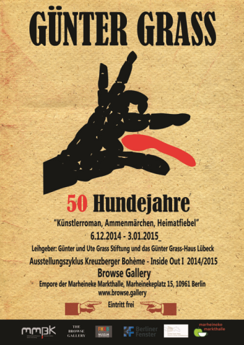 Poster Günter Grass Ausstellung Browse Gallery